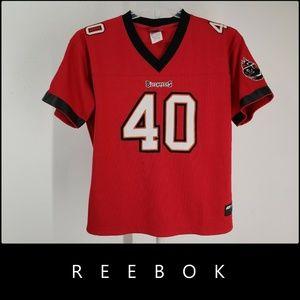 Reebok Tampa Bay Buccaneers Mike Alstott Jersey